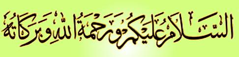 Ahlan Wa Sahlan  dan  Selamat Sejahtera!!
