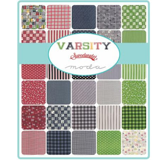 Moda VARSITY Fabric by Sweetwater for Moda Fabrics