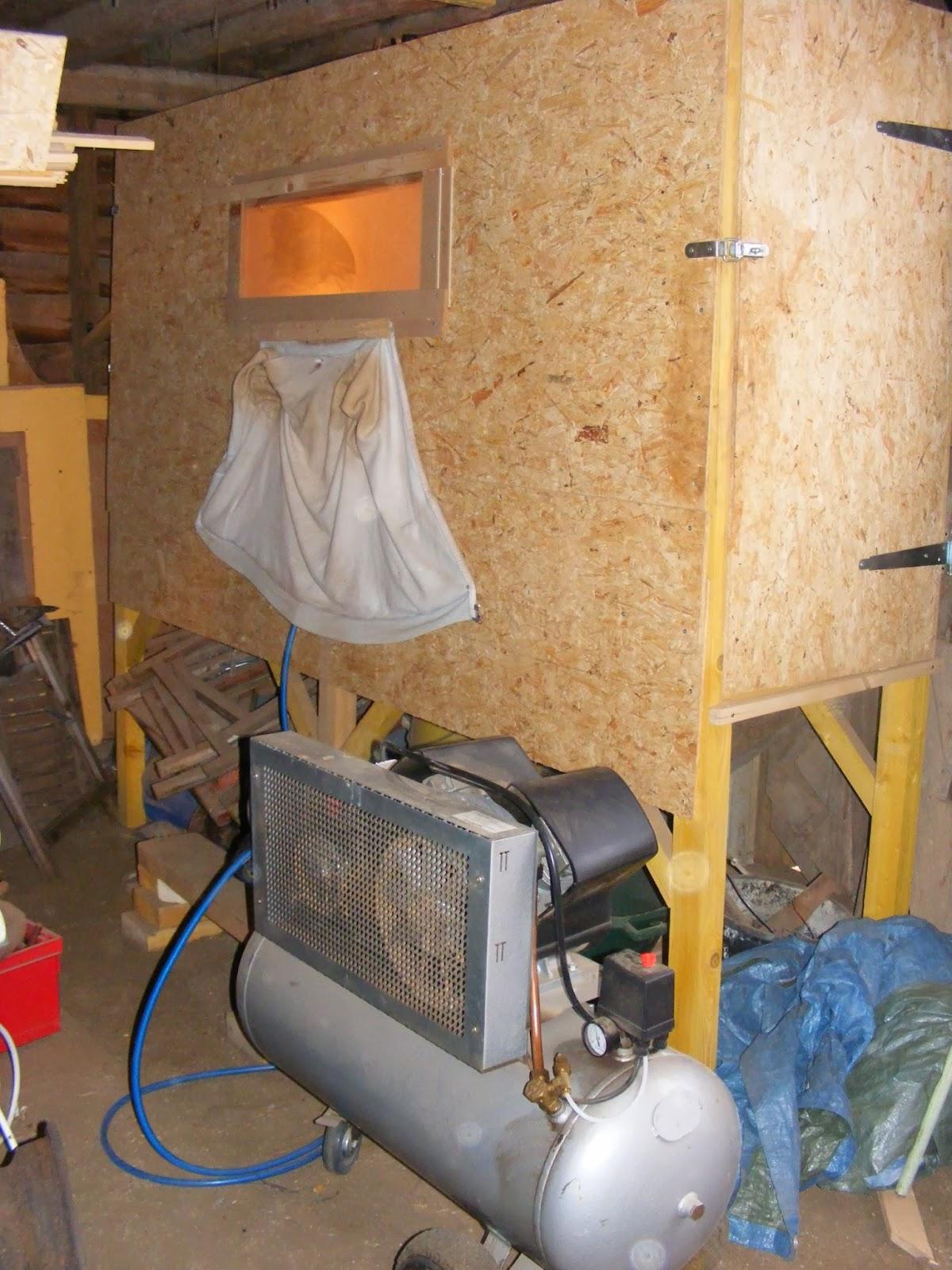 la roulotte de biche boni le sablage. Black Bedroom Furniture Sets. Home Design Ideas