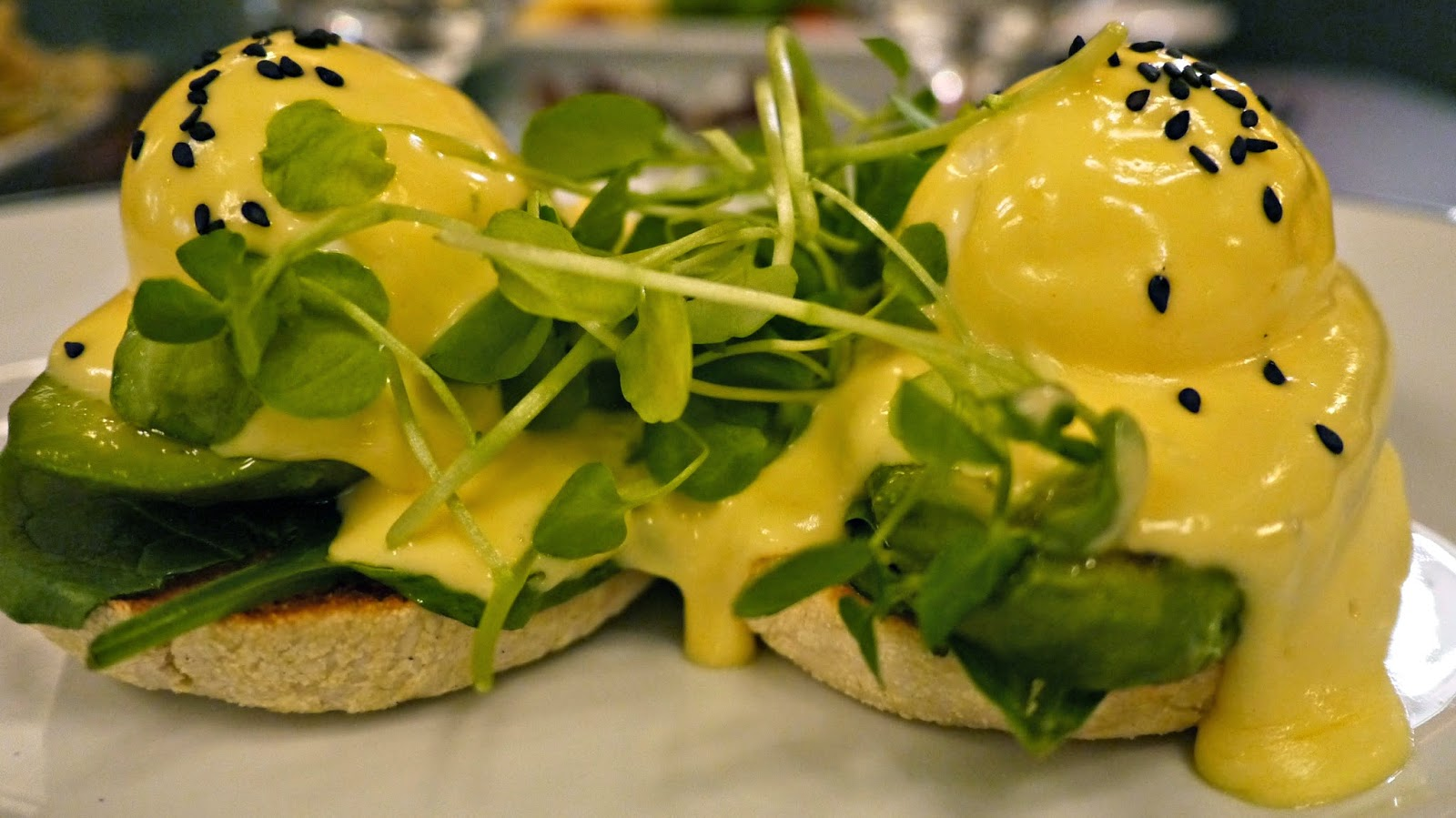 the Ivy Market Grill Eggs Benedict