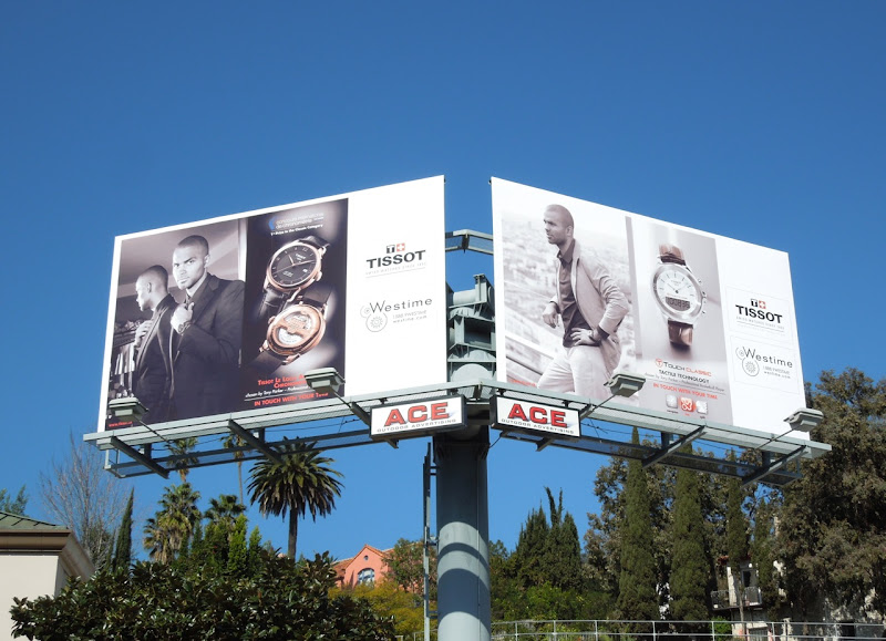 Tony Parker Tissot watches billboards