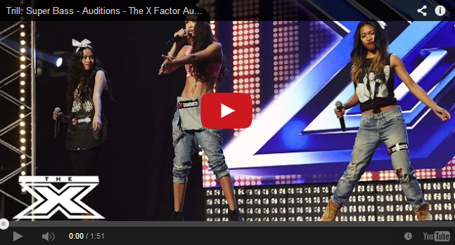 Pinoys Girl group TRILL performed 'Super Bass' Got Standing Ovation at X-Factor Australia