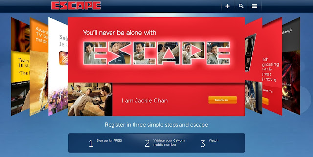ESCAPE: Your Personal World Of Entertainment By Celcom