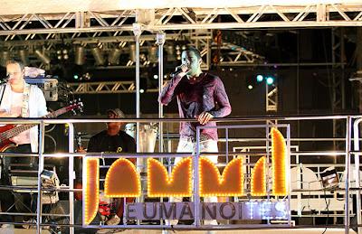 """Banda Jammil vai colocar a galera pra dançar e cantar seus hits. Entre eles, """"Sou Praieiro"""", """"Colorir Papel"""", """"Milla"""" e """"Minha Estrela"""""""