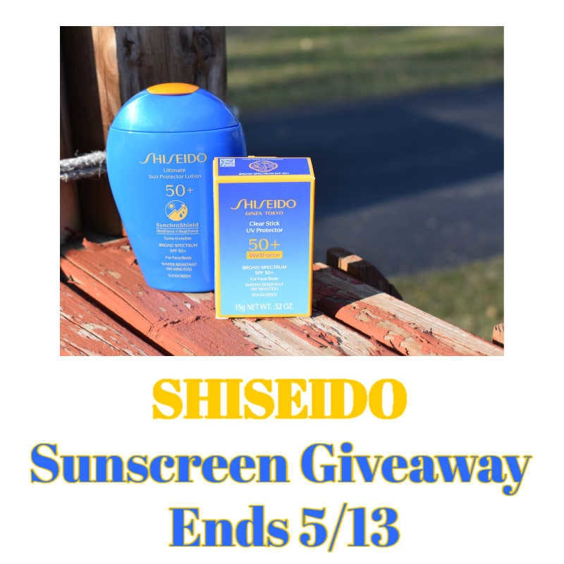 Shiseido Sunscreen Giveaway