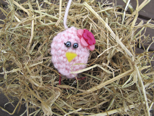 Pink Easter Chick