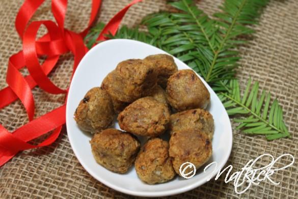 Vegobullar utan ägg och gluten (vegetariska köttbullar)