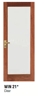The coventry caper internal colours and choices for External laundry doors