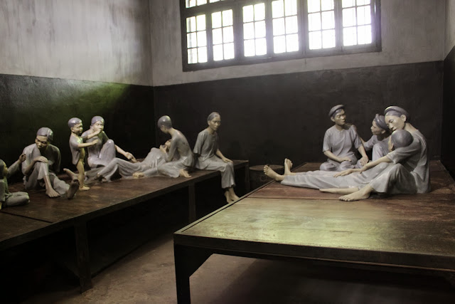 Stockade for female prisoners who have babies at Maison Centre (Hoa Lu Prison) in Hanoi, Vietnam