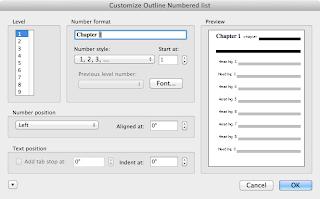 numbering menu 2