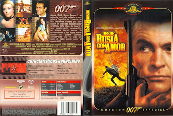 Carátula dvd: Desde Rusia con amor (1967) (From Russia With Love)