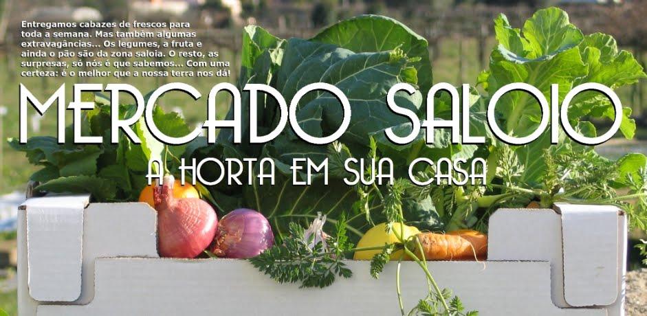 Mercado Saloio - a horta em sua casa