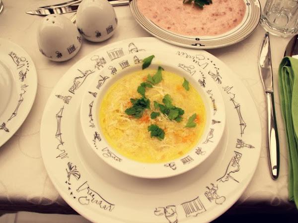 Emsan'la Osmanlı Mutfağı | Terbiyeli Tavuk Suyu Çorba
