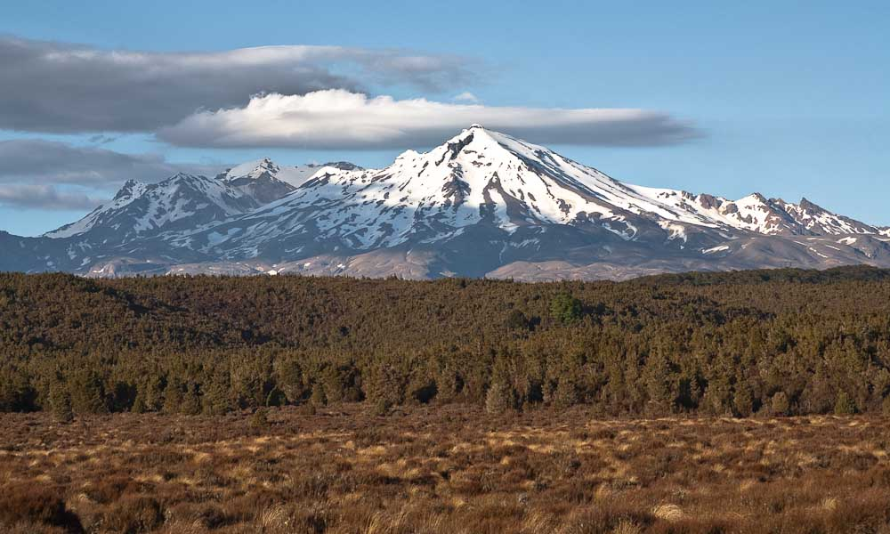 New Zealand's Mount Doom (Mount Ruapehu) showing huge increase of both carbon dioxide and sulphur..
