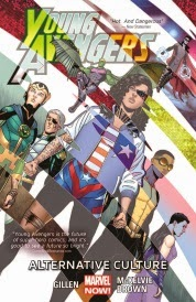 Cover of Young Avengers Volume Two, Alternative Culture