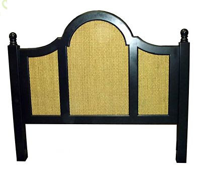 seagrass headboard tropical headboards