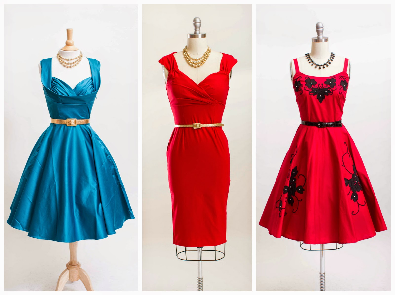 Simply Vintage Boutique: we carry vintage style dresses too...