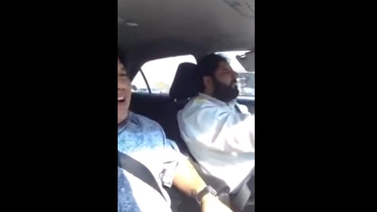 Video of a Dubai's Pakistani Taxi Driver Speaking Tagalog Fluently