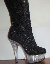 Modelo Botas com glitter Inverno 2013