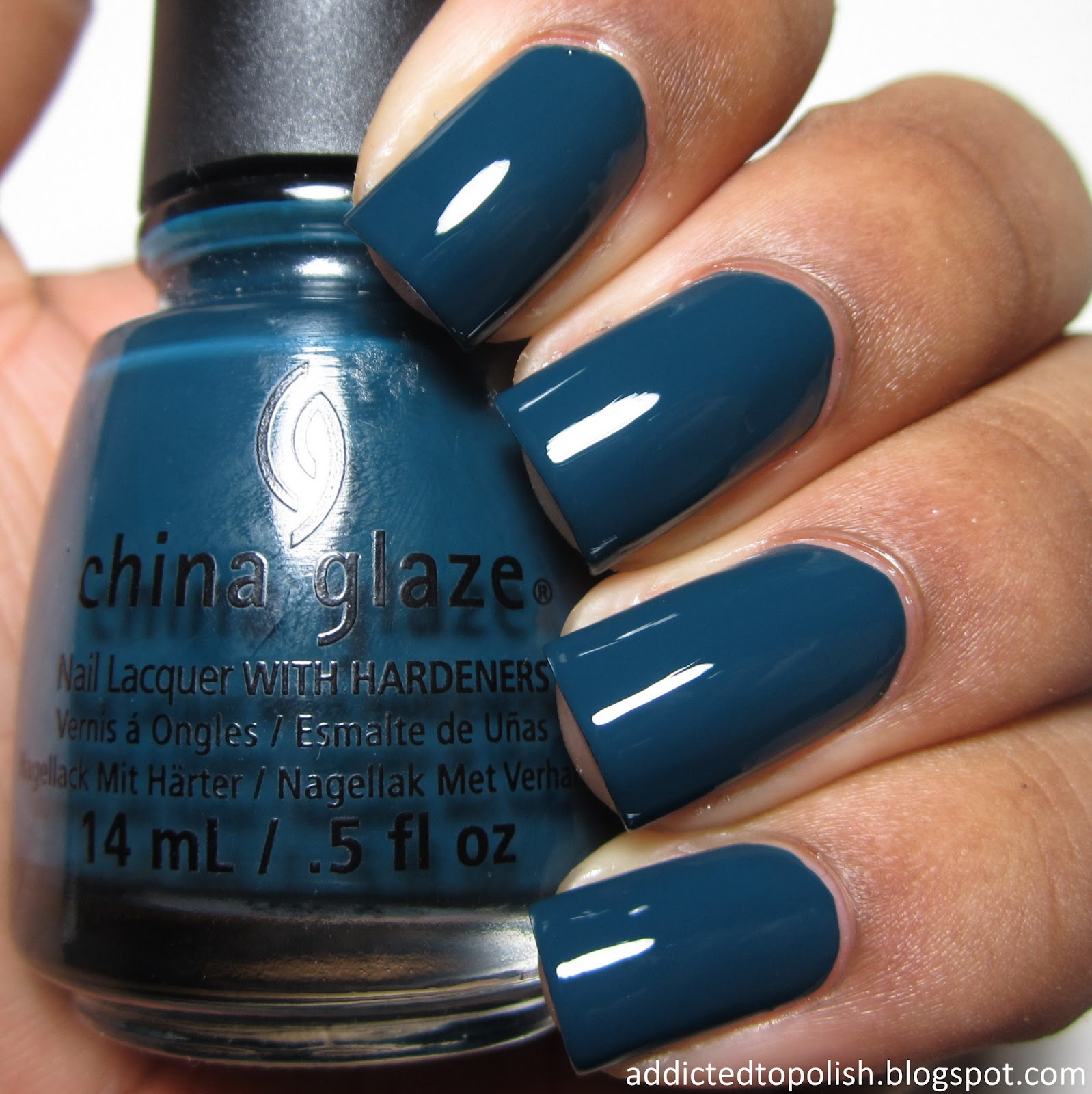 China Glaze Well Trained All Aboard Fall 2014