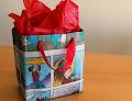 Bolsas de regalo con papel de historietas