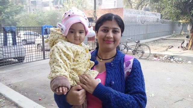 Avika with Subita :)