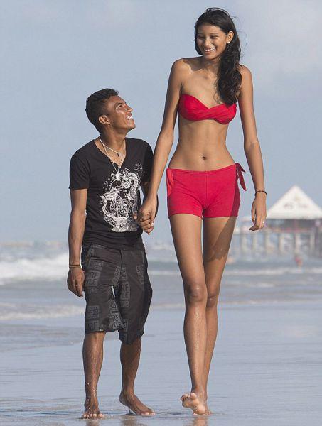 Tallest teen girl