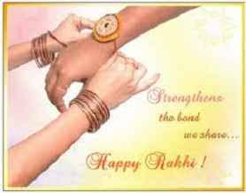 Raksha Bandhan Whatsapp Status in Hindi for sister image