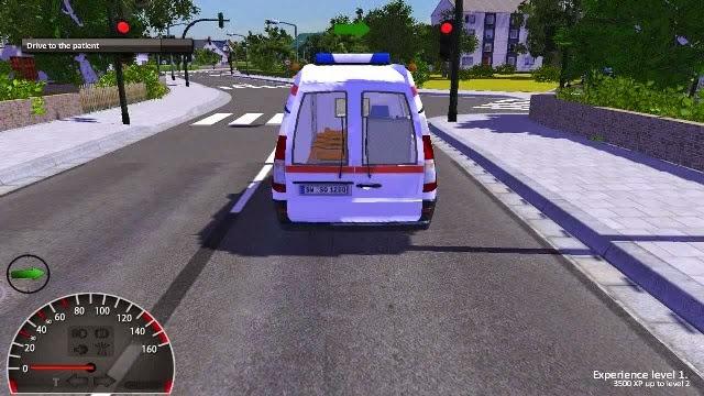 Ambulance Simulator 2012 PC Gameplay