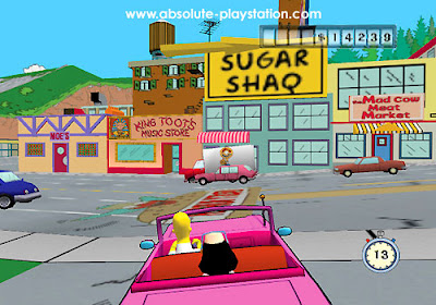 The Simpsons: Road Rage (PS2) 2001