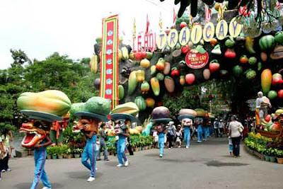 The 2013 Fruit Festival in the South, Vietnam