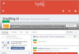 Jangan Lupa Like Fanpage Facebook WapBlog.ID