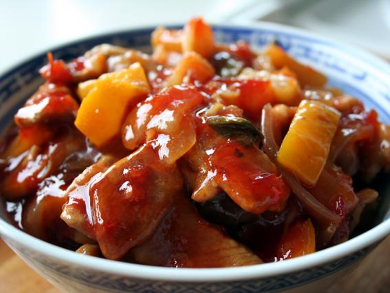 Tabernes Opskrifter Kinesisk Sweet Sour