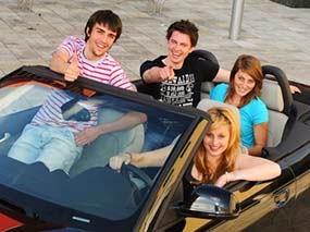 Conductores Adolescentes - Los estados más