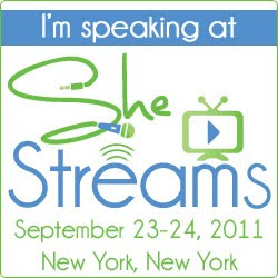 Dori at the SheStreams Conference