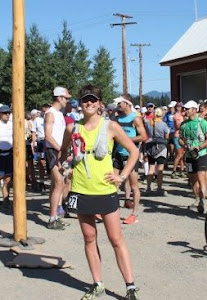 Candice Burt, LMP at Cascade Crest Endurance Run