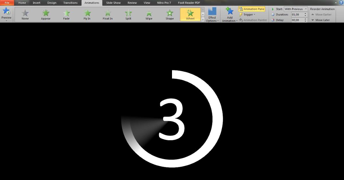 Cara Membuat Countdown dari PowerPoint ~ BERBAGI ILMU