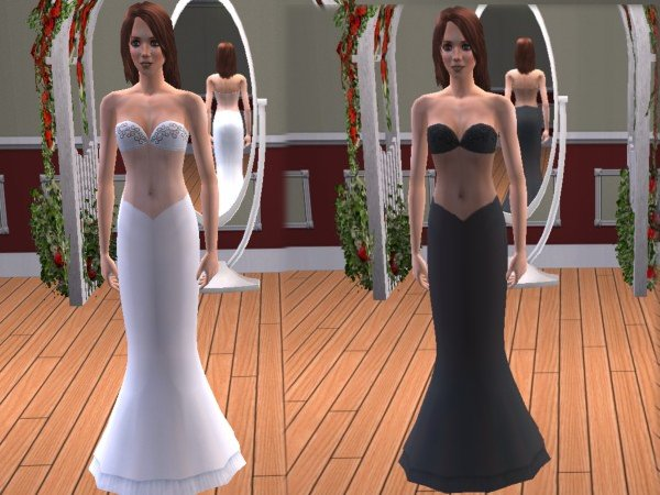 Design Wedding Dress Games 106