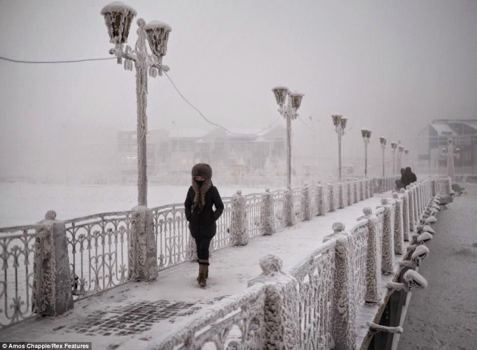 Qual o lugar mais frio do mundo?
