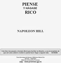 PIENSE Y HAGASE RICO Napoleon Hill.pdf