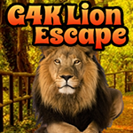 Play Games4King Lion Escape