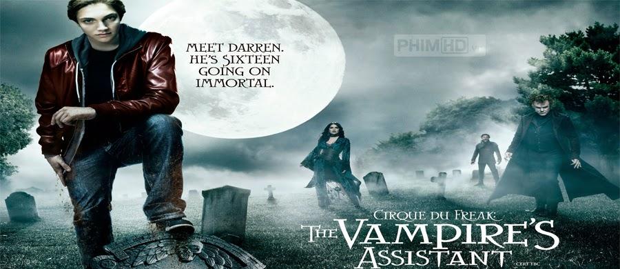 Phim Đệ Tử Ma Cà Rồng VietSub HD | Cirque Du Freak The Vampires Assistant 2009