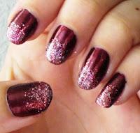 simple  elegant nail art