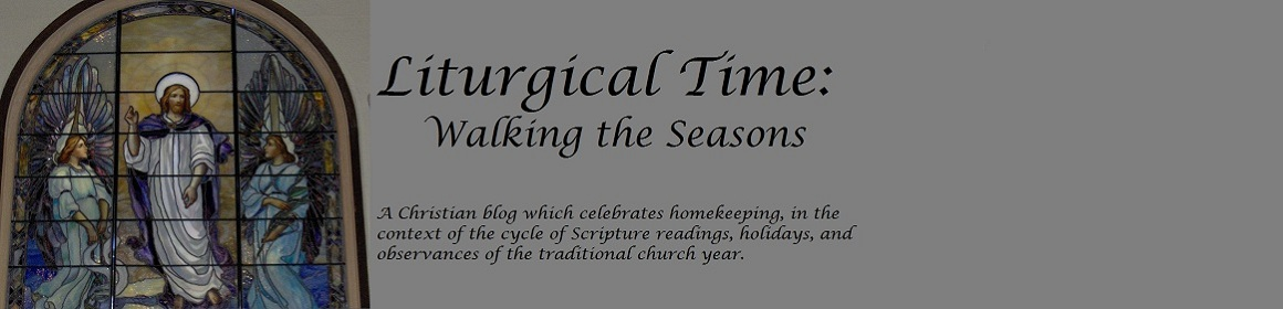liturgical time: walking the seasons