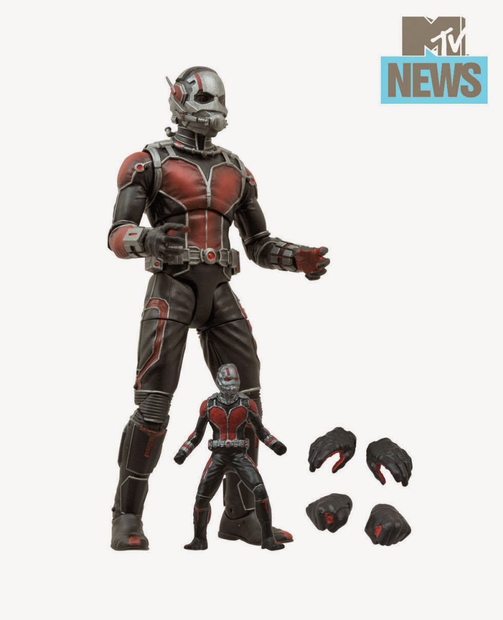 First Look: Ant-Man Movie Marvel Select Action Figure by Diamond Select Toys