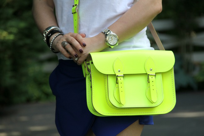 Neon Cambridge Satchel