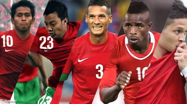 Daftar Susunan Pemain Timnas Indonesia vs Filiphina Agustus 2013