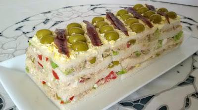 6 pasteles fríos salados fáciles