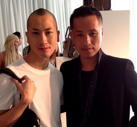 Phillip Lim and Terry Wong