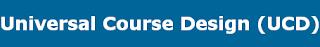 Universal Course Design logo